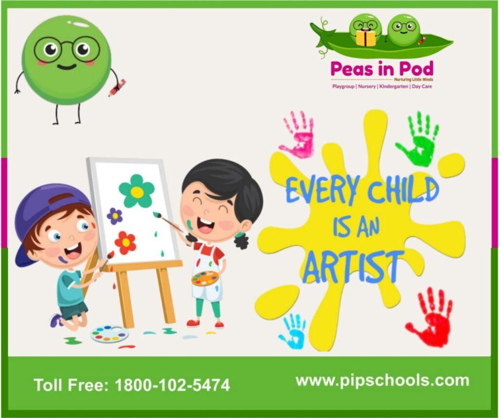 pre nursery school-Peas in Pod