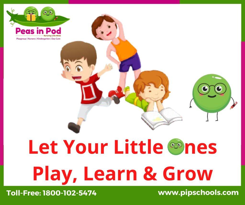 nursery franchise-peas in pod